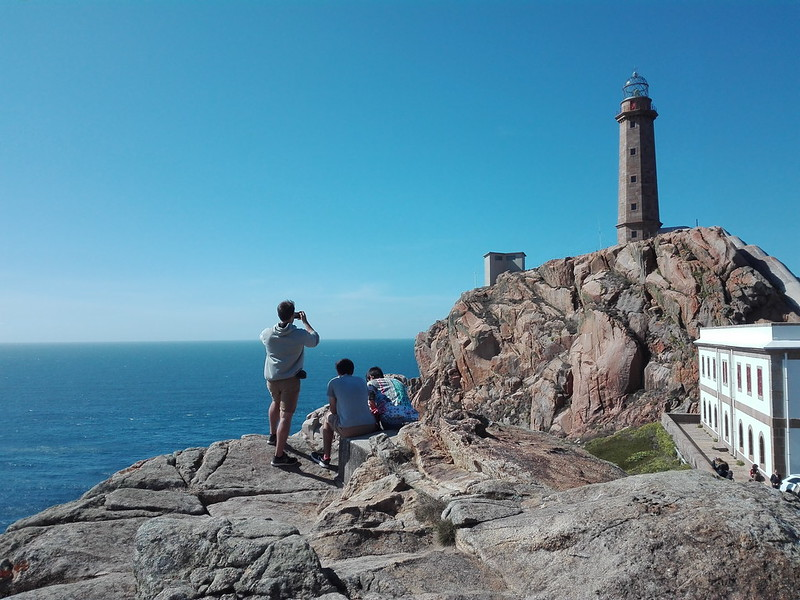 Una foto al faro de Cabo Villano