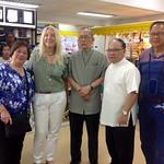 18 - Cora, Vassula, Archbishop Aniceto, and Fr. July