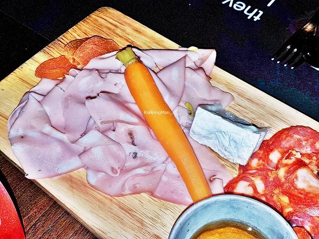 G-Board - Camembert, Mortadella, Pickled Carrot, Apricots