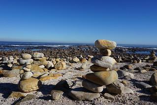 Billede af Kap Det Gode Håb. southafrica capetown sun outdoors sky clouds ocean sea water capepointcape good hopenature reserveparkwildliferuggedcliffsrocksstonesbeachstackcape hope