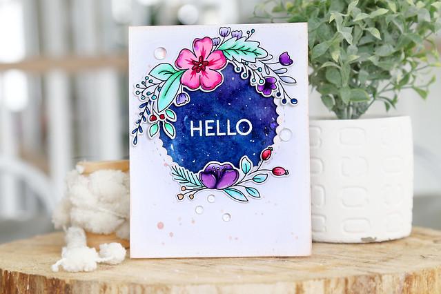 a floral hello (for Ellen Hutson)