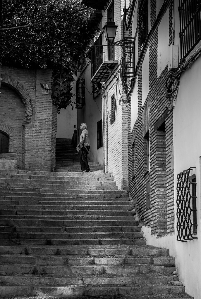 Street shot, Granada, Spain | Old town Granada  | Peter Downes | Flickr