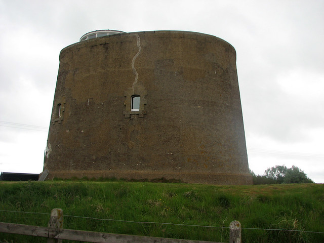 Martello Tower in Shingle Street