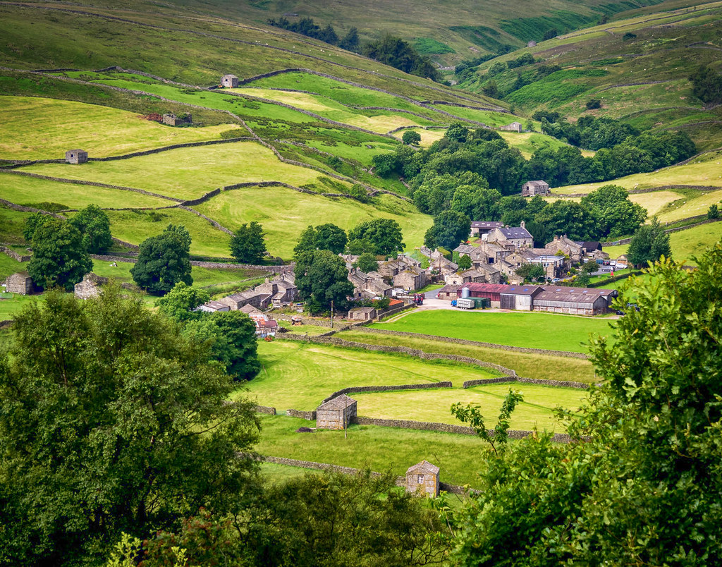 Thwaite from the Pennine Way, Swaledale. Credit Bob Radlinski, flickr