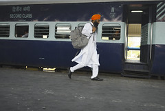 To catch the train #travel #india #punjab #chandigarh #street