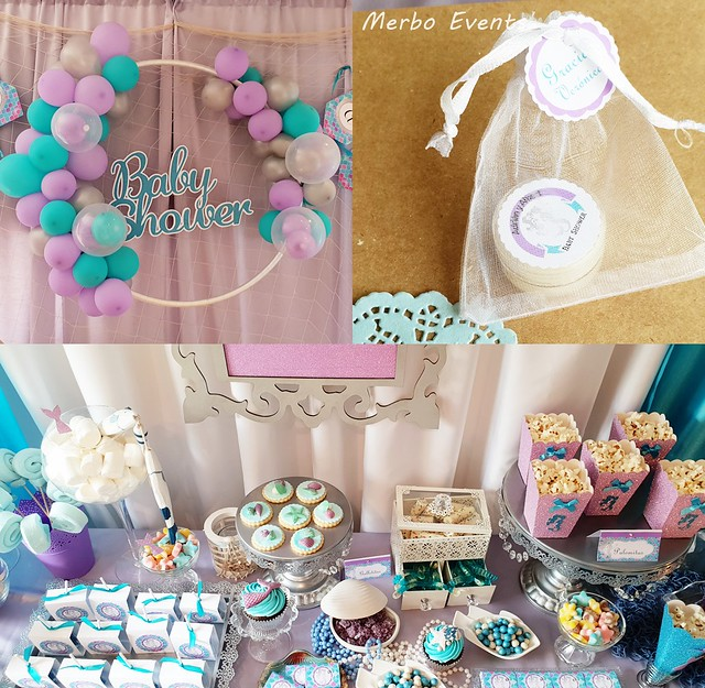 Baby shower Merbo Events