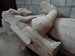 ca. 1365 - 'Je(h)an called Rabache, seigneur de Hangest et d'Avenescourt (+1363)', Église Saint-Martin, Davenescourt, dép. Somme, France