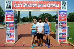 Zátopkův zlatý týden maraton