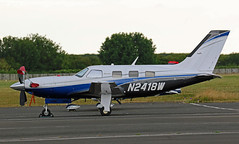 N2418W PIPER PA-46-500TP MALIBU MERIDIAN NEWCASTLE AIRPORT