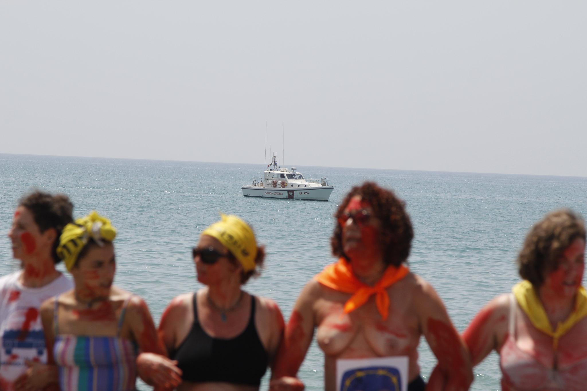 Mugak Zabalduz karabana 20180719 Pozzalo ekintza