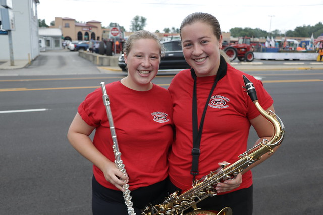 Crimson Marching Band - Elkhart County 4H Fair Parade