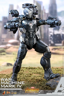 HOT TOYS War Machine IV 1/6 Scale Figure – Avengers: Infinity War