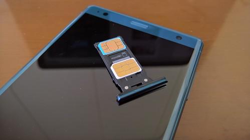SONY XPERIA XZ2 SIM Slot