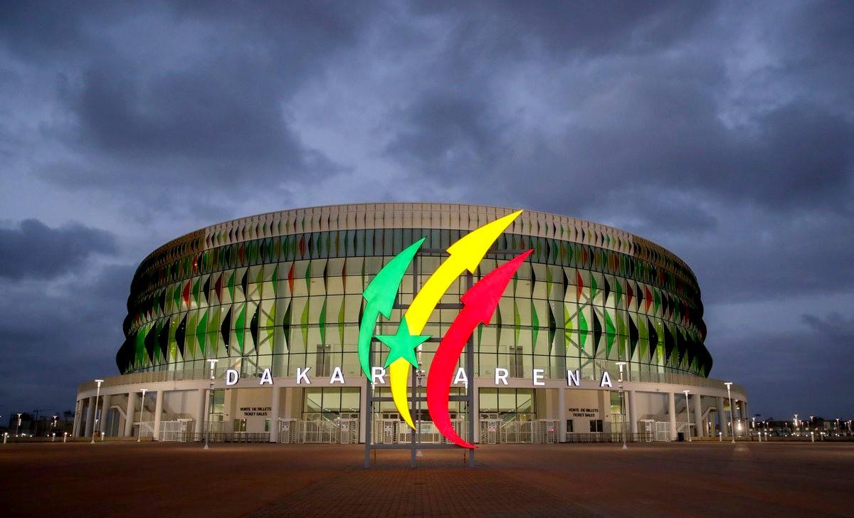 Inauguration du nouveau palais des Sports Dakar aréna