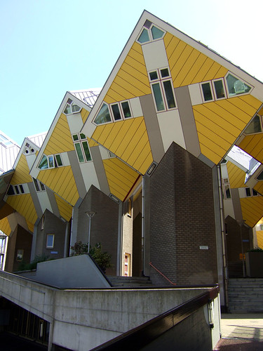 exceptional buildings in Rotterdam
