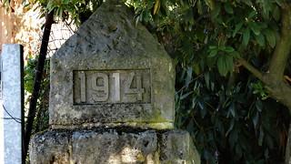 Die Toten von 1914 Blutwellenheißes Schlagen im Sommer 2018-01988
