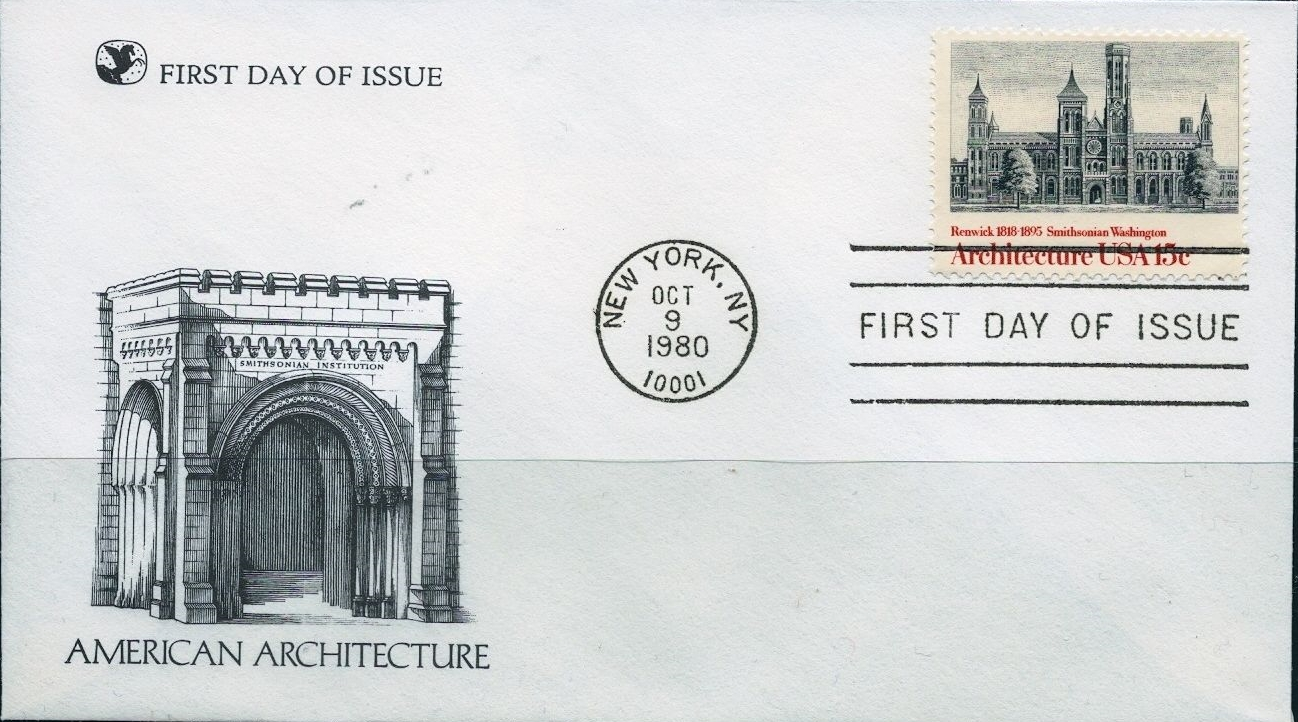 United States - Scott #1838 (1980) first day cover