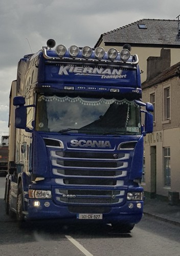 Scania at Mountmellick.