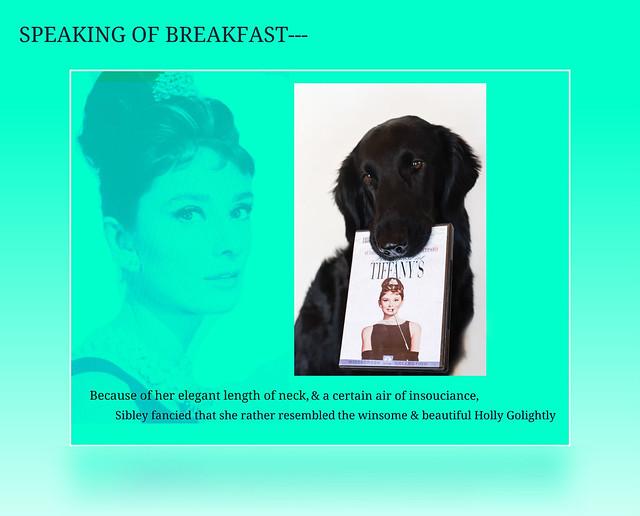 Speaking of Breakfast---