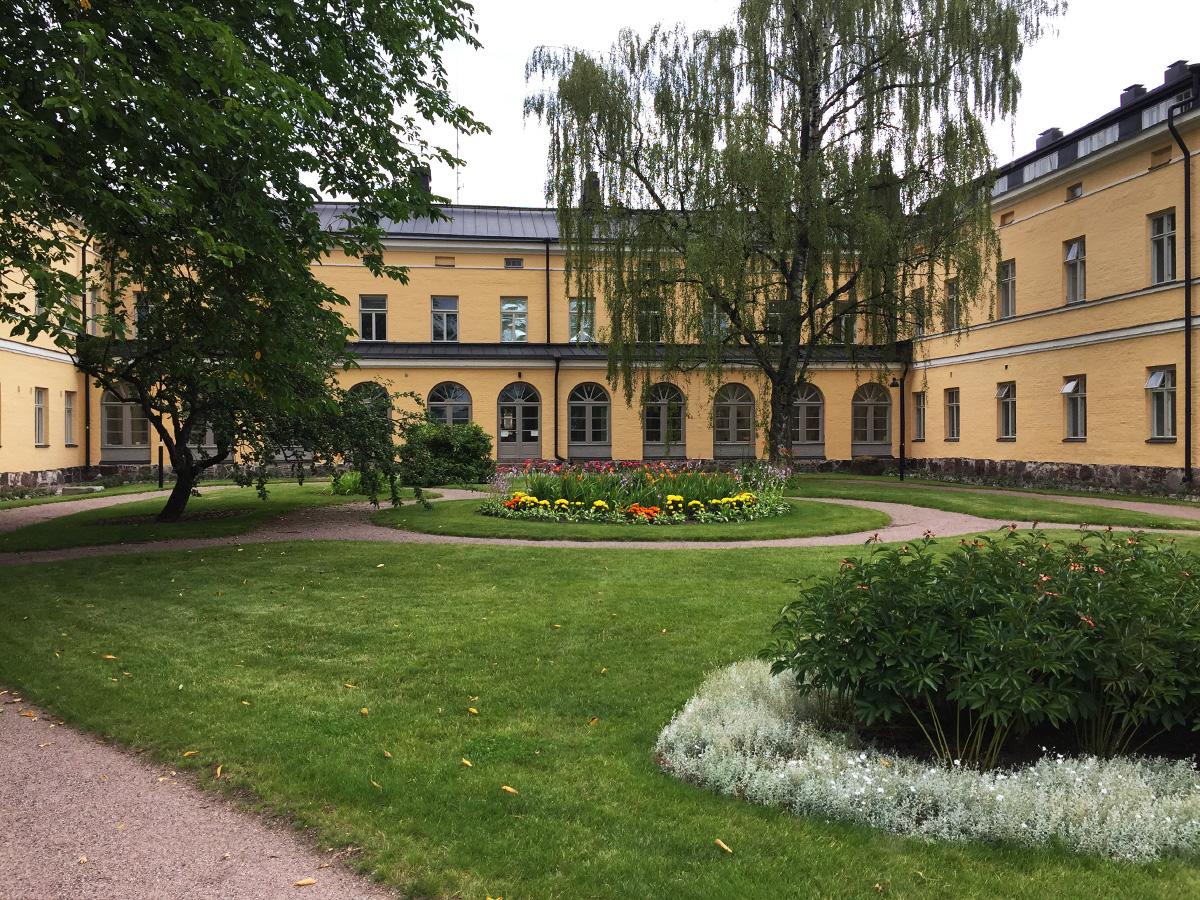 Kesä Helsingissä Lapinlahden Lähde