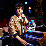 Tue, 26/06/2018 - 5:05pm - Low Cut Connie's crazy fun FUV Live set on WFUV from Rockwood Music Hall, 6/28/18. Hosted by Paul Cavalconte. Photo by Gus Philippas/WFUV