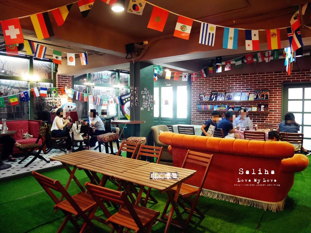 台北捷運公館台電大樓站附近中央公園咖啡館六人行場景 (3)
