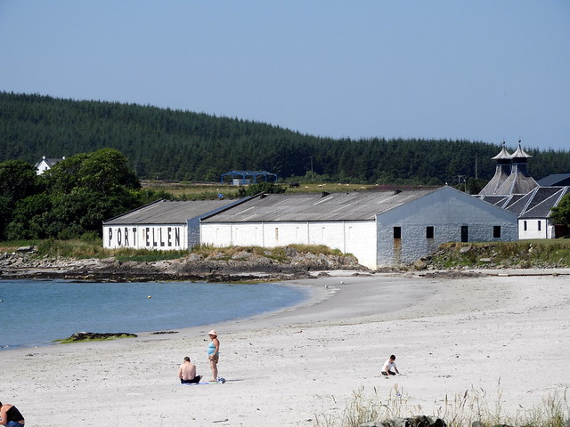 Port Elllen Distillery Warehouses