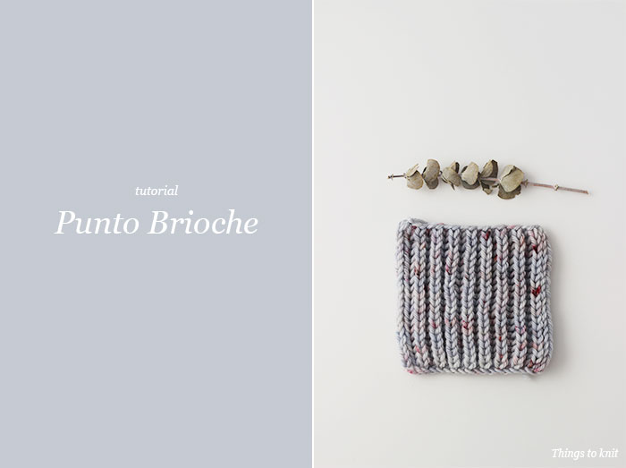 "Tutorial: ""Punto Brioche"" » Things to Knit"