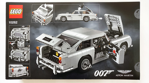 Lego Creator James Bond Aston Martin Db5 10262 Review