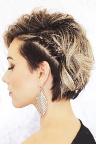 Most Stunning Braided Short Hair Styles To Top Level Of Beauty 12