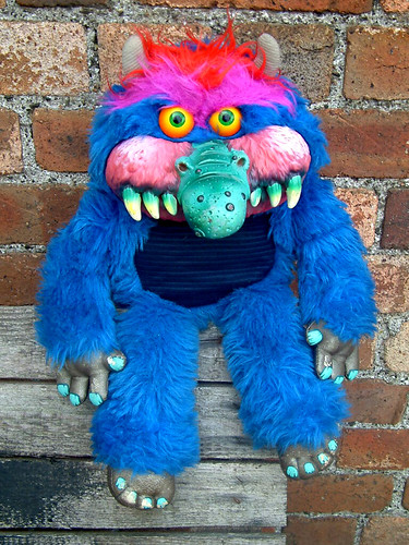My Pet Monster Mid Size 1986 Amtoy The Moog Flickr