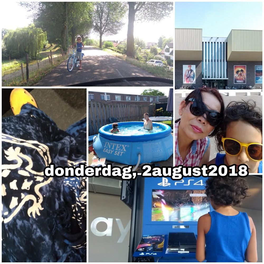 2 august 2018 Snapshot