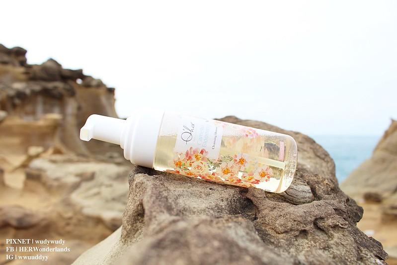 Qher 植感山茶花系列 保濕洗卸慕斯 提亮粉嫩素顏霜26