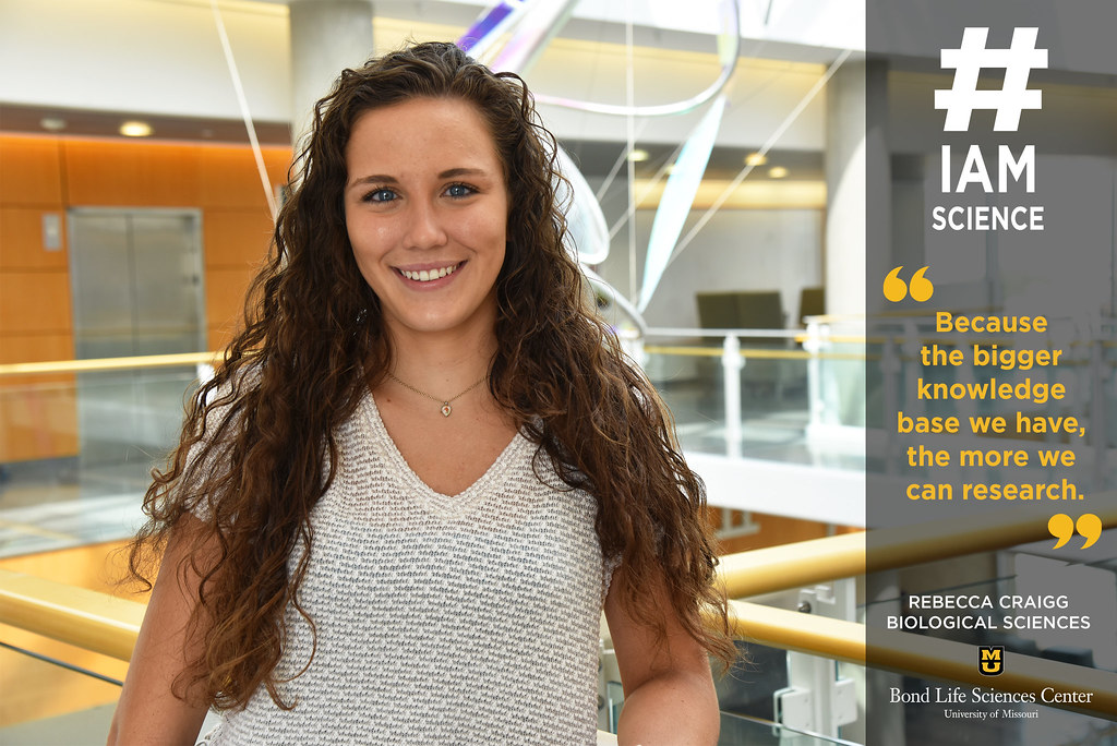 #IAmScience Rebecca Craigg