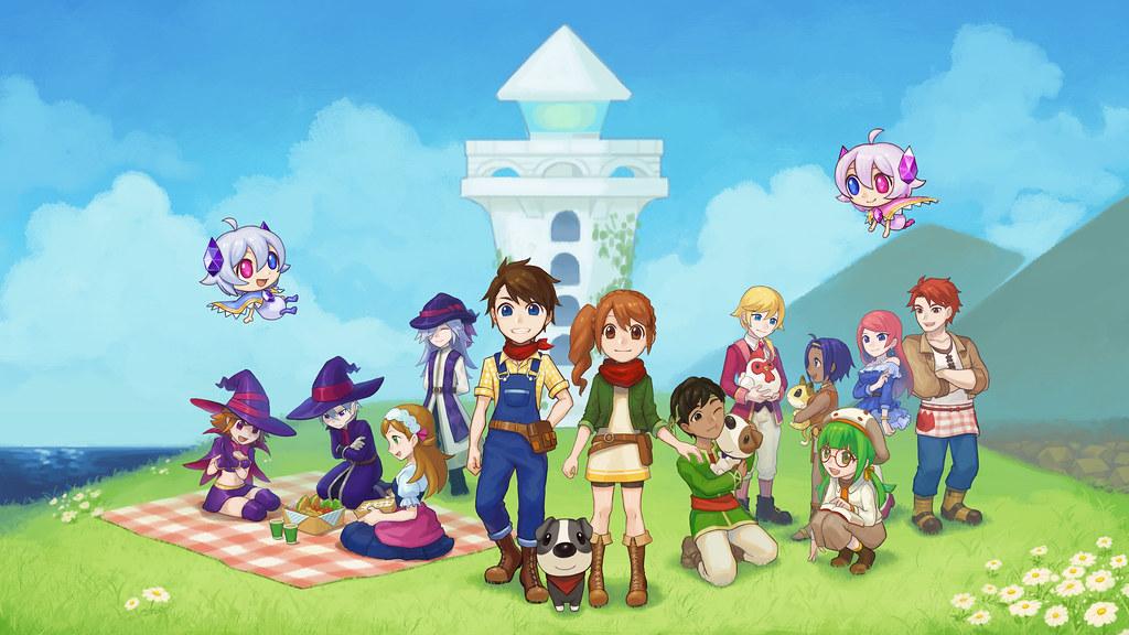Harvest Moon: Light of Hope for PS4