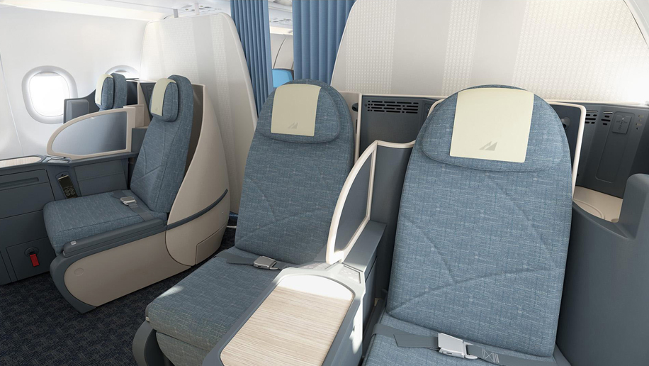 Philippine Airlines A321 Business Class