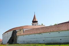Prejmer. Wall of church