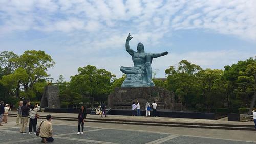 長崎市 平和祈念像