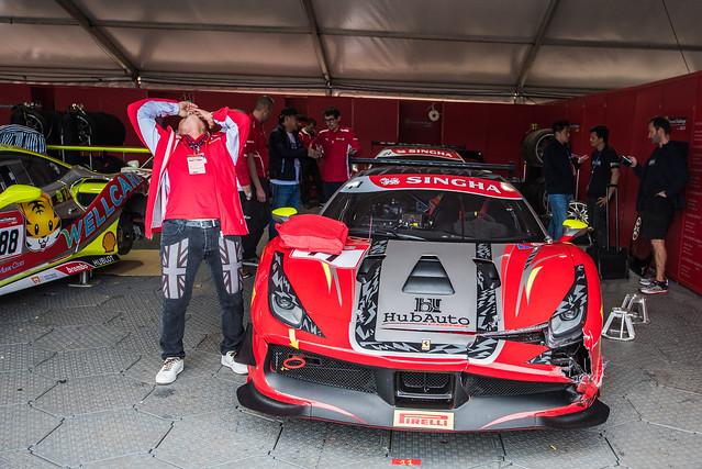 F1 Melbourne - Ferrari, Nikon D810, AF-S Zoom-Nikkor 14-24mm f/2.8G ED