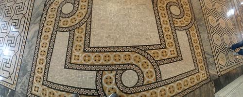 Library of Congress floor tiles (1912)