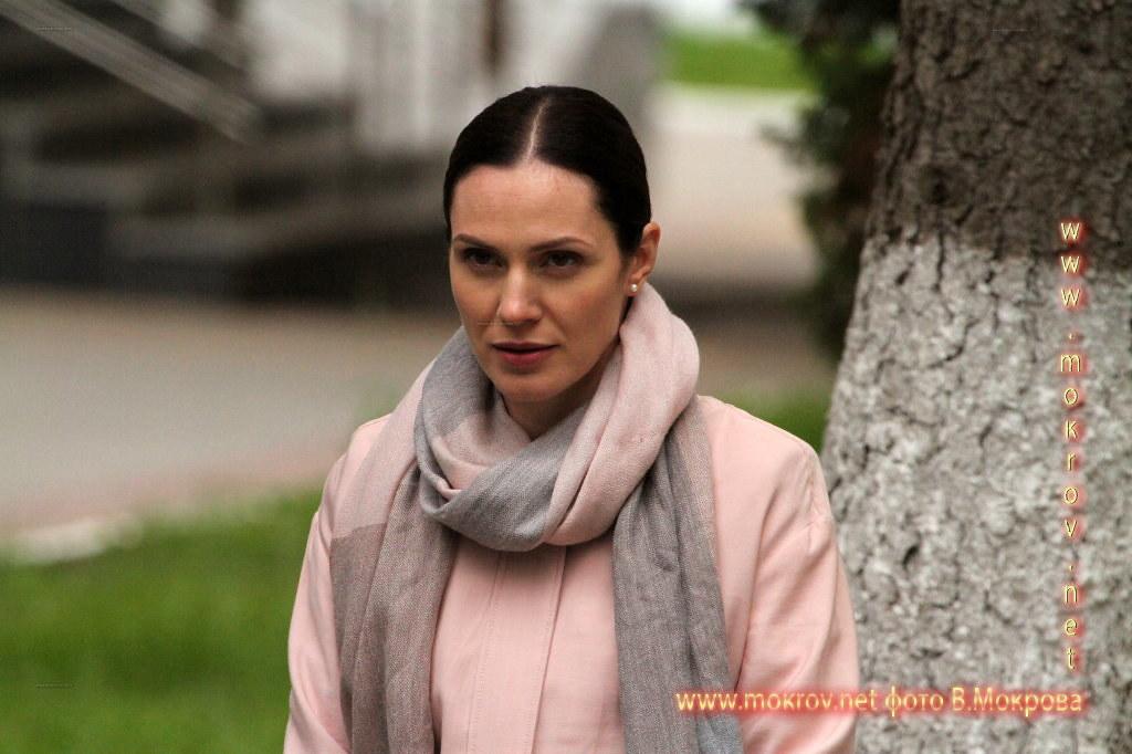 Актриса - Тара Амирханова На съемках сериала «Морозова сезон первый»