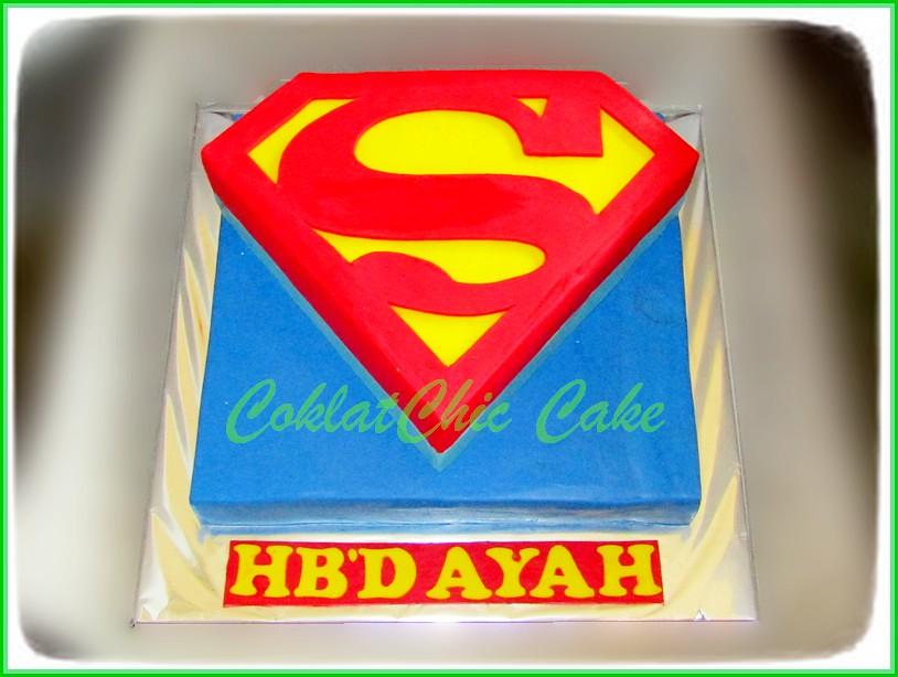 Cake Superman AYAH 24 cm