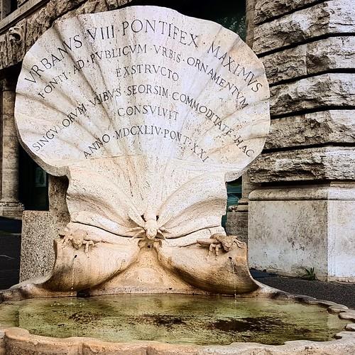 Roma, Fontana Barberini