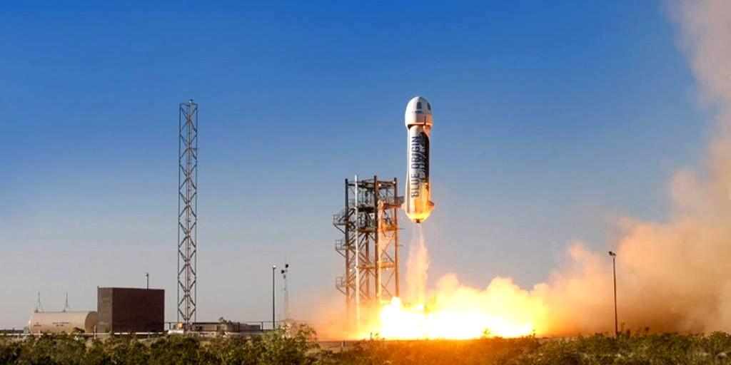 Blue Origin envoie la capsule New Shepard à sa plus haute altitude jusqu'à ce jour