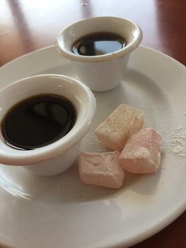 Druze Coffe and Turkish Delight (Rahat Lukoum)