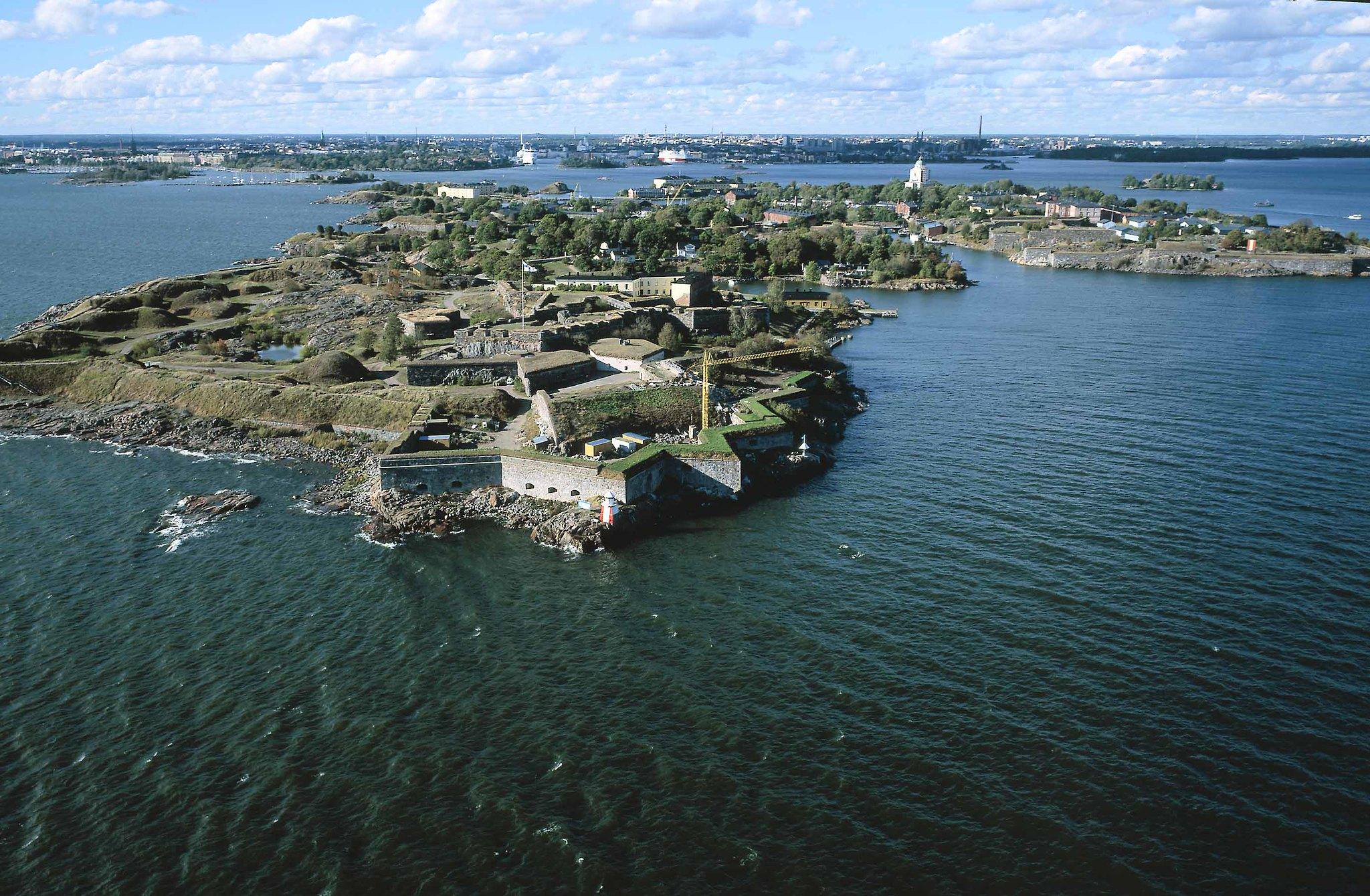 Kuva toimipisteestä: Suomenlinna, P 60° 8,869' ja I 24° 59,262'