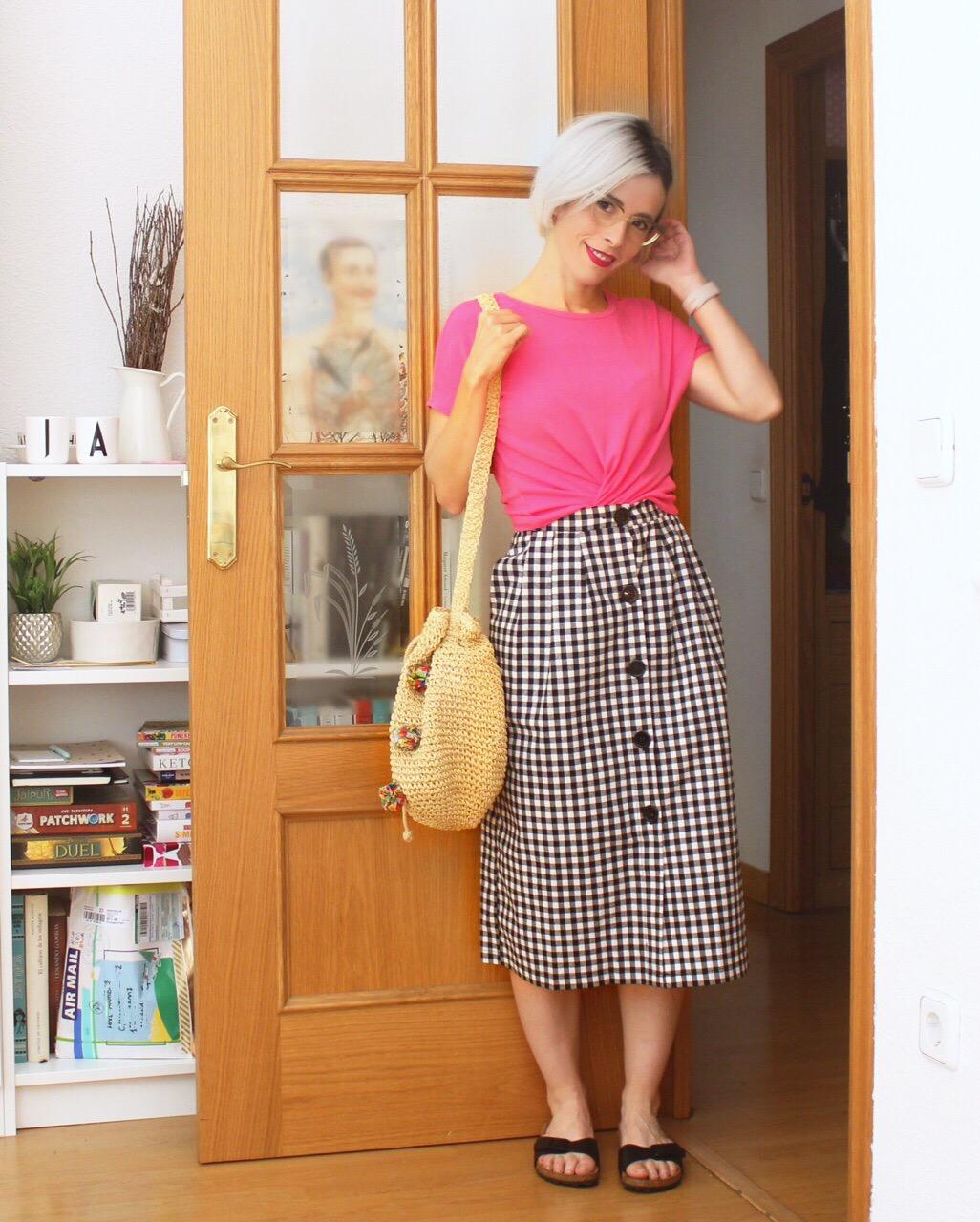 Falda de picnic