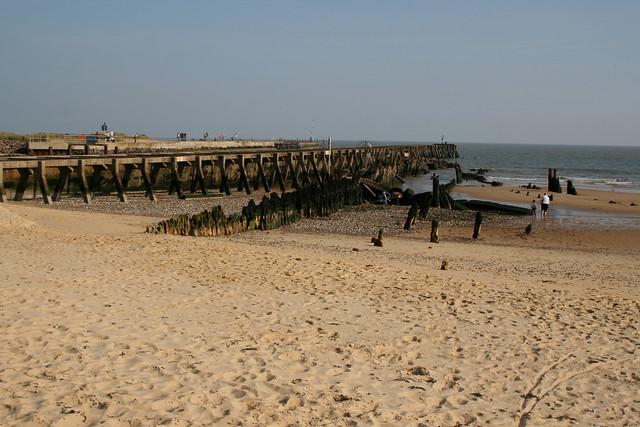 The beach at Walberswick