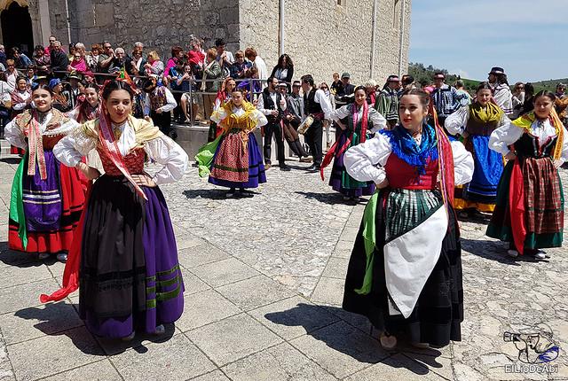 Danzas Burgalesas Justo del Río en la Romería Popular a Santa Casilda 3