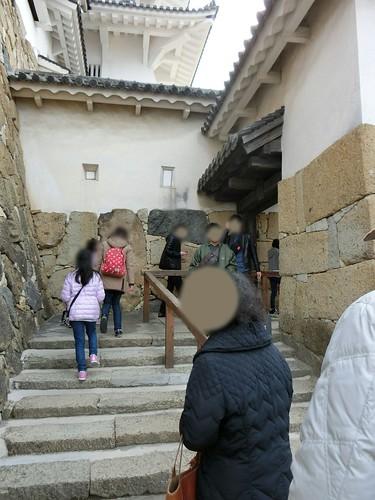 姫路城の見どころと混雑 城内